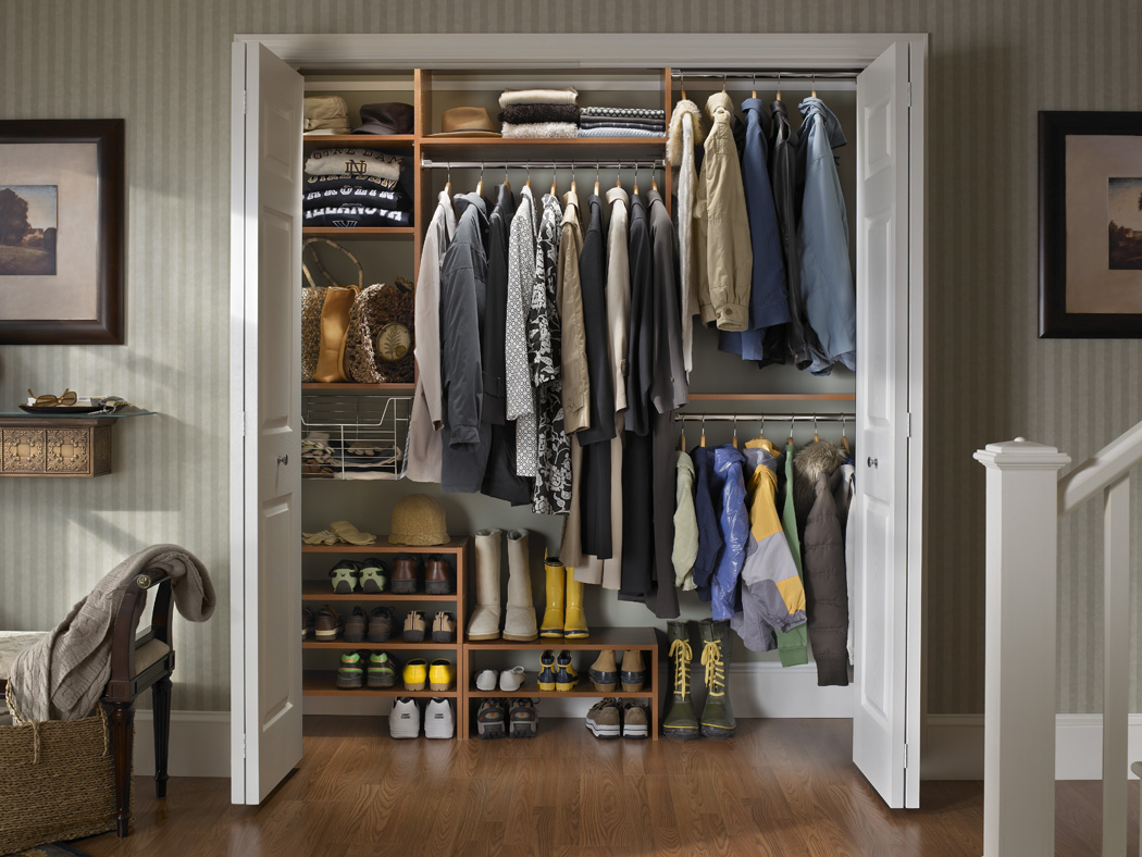 Closets drakeclosetdesign Closet layout ideas