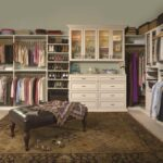 Premier Walk-in Closet in Antique White