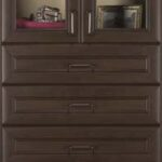 Chocolate Pear Premier Cabinetry Tower