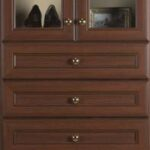 Mahogany Premier Cabinetry Tower
